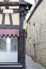Maison - Français:   Maison à colombage, 107 Grande Rue au Mans.