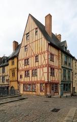 Maison du 16e siècle à pans de bois - Nederlands: Le Mans (Frankrijk): het historische huis