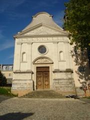 Séminaire des Oratoriens -  La chapelle de l'Oratoire, partie intégrée du lycée Montesquieu du Mans