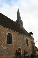 Eglise - Français:   Église de la Trinité de Saint-Célerin.