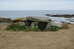 Trois dolmens -  Dolmen de la Planche à Puare, Ile d'Yeu, Vendée, France.
