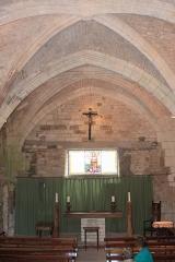 Abbaye de Lieu-en-Jard ou Lieu-Dieu - Français:   Chapelle de l\'abbaye de Lieu-Dieu, Fr-85-Jard-sur-Mer.