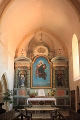 Eglise - Français:   Chœur de l\'église Notre Dame de l\'Assomption, Fr-85-Longeville-sur-Mer.