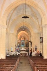 Eglise - Français:   Nef de l\'église Notre Dame de l\'Assomption, Fr-85-Longeville-sur-Mer.