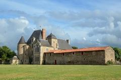 Château de la Chabotterie - Français:   Château de la Chabotterie - Saint-Sulpice-le-Verdon, Vendée