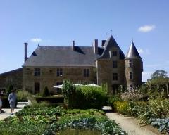 Château de la Chabotterie - Français:   Le château vendéen de la Chabotterie.
