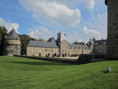 Domaine du château de Canisy (également sur commune de Saint-Gilles) - Château de Canisy, Manche Journée du patrimoine 2014 - Chateau&Parc
