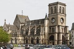 Basilique Sainte-Trinité - Français:   Basilique Sainte-Trinité à Cherbourg, Manche.