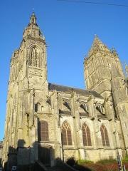 Eglise Saint-Pierre -  Coutances (Normandie, France). L'église Saint-Pierre.