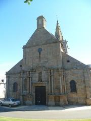 Eglise Notre-Dame - Français:   Granville - Eglise ND du Lihou, façade