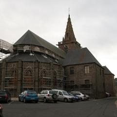 Eglise Notre-Dame - Français:   Chœur de l\'église Notre-Dame du Cap Lihou à Granville.
