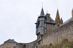 Enceinte de la Haute-Ville - English:   Normandy (France)