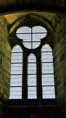 Abbaye et dépendances - Réfectoire des moines de l'Abbaye du Mont Saint-Miche, France