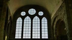 Abbaye et dépendances - Intérieur de l'église abbatiale de l'Abbaye du Mont Saint-Michel