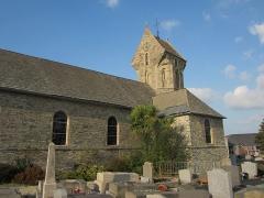 Eglise - Français:   Église Saint-Martin, Cherbourg-Octeville, Manche XIIe, style roman