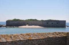 Ile de Tatihou - English: Island of Tatihou, in front of Saint-Vaast- la Hougue  (France, Normandy).