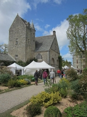 Domaine du château de Tourlaville (également sur commune de La Glacerie) - Château des Ravalet, Tourlaville, Manche Pendant l'édition Presqu'île en fleurs de 204