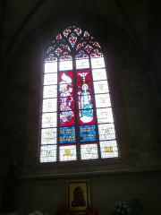Eglise Saint-Malo - Français:   Valognes, église Saint-Malo: vitrail