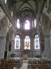 Eglise Saint-Malo - Français:   Valognes, église Saint-Malo: choeur