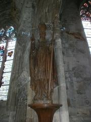 Eglise Saint-Malo - Français:   Valognes, église Saint-Malo: statue