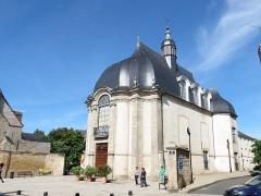 Bibliothèque municipale (ancienne chapelle des Jésuites) - This image was uploaded as part of Wiki Loves Monuments 2012.