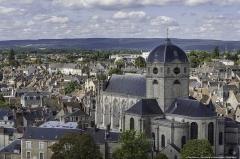 Eglise Notre-Dame - English: La Basilique et les toits d'Alençon