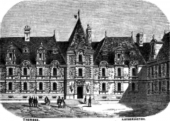 Hôtel de la préfecture (ancien Hôtel de Guise) - English: The Prefecture of Alençon, France.