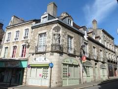 Immeuble -  55 rue du Collège, Alençon, Orne, Normandie.