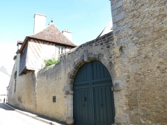 Logis Saint-Léonard - This image was uploaded as part of Wiki Loves Monuments 2012.