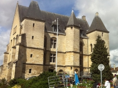 Ancien château des Ducs - English: Chateau of the dukes in the center of Argentan