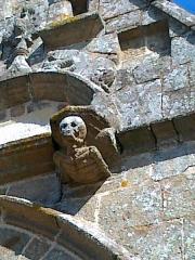 Eglise - Français:   Église Saint-Pierre-Saint-Paul de Bréel: Mort de la Chapelle Corday
