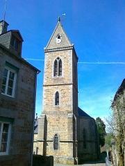 Eglise - Français:   Clocher de l\'église Saint-Pierre-Saint-Paul de Bréel