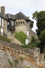 Enceinte de la ville -  Vestiges de l'enceinte urbaine de la ville de Domfront.