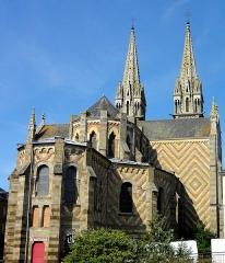 Eglise Notre-Dame de l'Assomption - Français:   Église Notre-Dame-de-l\'Assomption de La Ferté-Macé, Orne, Basse-Normandie