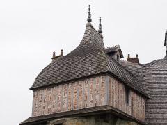 Manoir de la Sausserie - Français:   Manoir de la Saucerie, à La Haute-Chapelle (France).