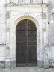Chapelle Notre-Dame-de-Pitié - Façade occidentale de la chapelle Notre-Dame-de-Pitié de Longny-au-Perche (61). Portail.