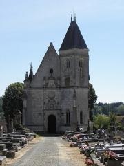 Chapelle Notre-Dame-de-Pitié - Français:   Façade occidentale de la chapelle Notre-Dame-de-Pitié de Longny-au-Perche (61).