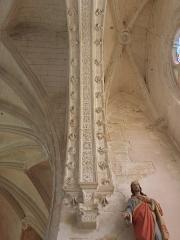 Chapelle Notre-Dame-de-Pitié - Français:   Chapelle Notre-Dame-de-Pitié de Longny-au-Perche (61). Intérieur. Chapelle sud. Arcade d\'entée. Partie est.