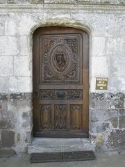 Chapelle Notre-Dame-de-Pitié - Français:   Chapelle Notre-Dame-de-Pitié de Longny-au-Perche (61). Extérieur. Porte septentrionale.