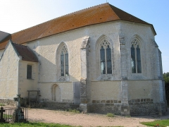 Eglise de Vaux-le-Bardoult - This building is indexed in the Base Mérimée, a database of architectural heritage maintained by the French Ministry of Culture,under the reference PA00110856 .