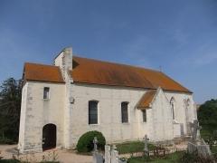 Eglise de Vaux-le-Bardoult - Français:   Église de Vaux-le-Bardoult: chœur du XIVe siècle, nef reconstruite en 1761. Commune de Montgaroult, Orne.
