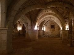 Ancienne collégiale de Toussaint - Français:   Crypte de la collégiale de Toussaint (Mortagne-au-Perche).