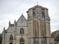 Eglise Notre-Dame - English: The western side of the church of Mortagne-au-Perche, Orne, France.