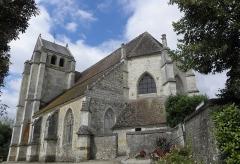 Eglise Saint-Germain-de-Loisé - Français:   Église Saint-Germain de Loisé à Mortagne-au-Perche (61). Chevet et flanc sud.