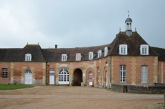 Haras national du Pin (également sur communes de La Cochère, Ginai et Exmes) - English: Haras national du Pin, one of the Haras Nationaux, Normandy, France.
