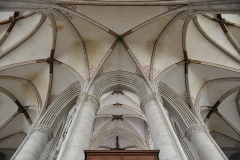 Cathédrale Notre-Dame - English: Ambulatory vaults, Sées cathedral, Normandy, France.