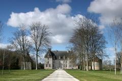 Château - English: Castle of Aubigny (Calvados, France), listed building.
