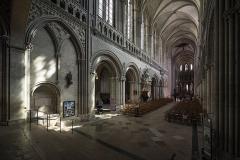 Cathédrale Notre-Dame - Cathédrale Notre-Dame de Bayeux, Calvados, 2017.