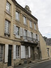 Maison -  10, 12 rue des Chanoines, Bayeux, Normandie.