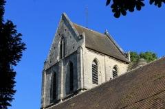 Eglise Saint-Ouen - Français:   Clocher de l\'église Saint-Ouen du XVe à Caen (Calvados)